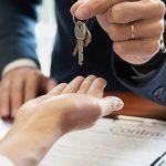 Sleuteloverdacht met een contract