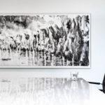 Penrose kunst aan muur
