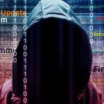 Ransomware hacker voor cyberspace