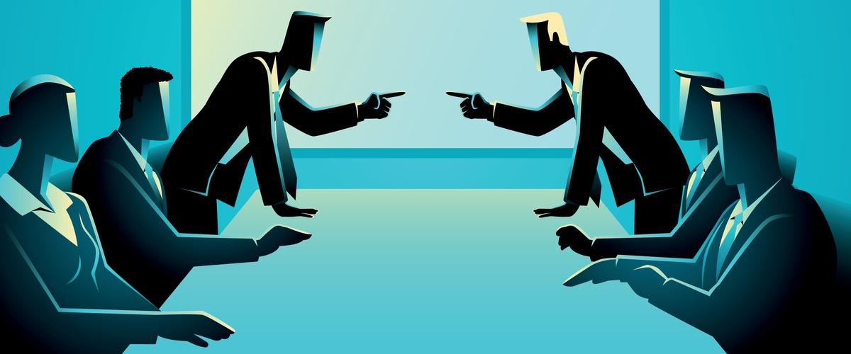 Aandeelhouders die in conflict zijn (aandeelhoudersconflict)