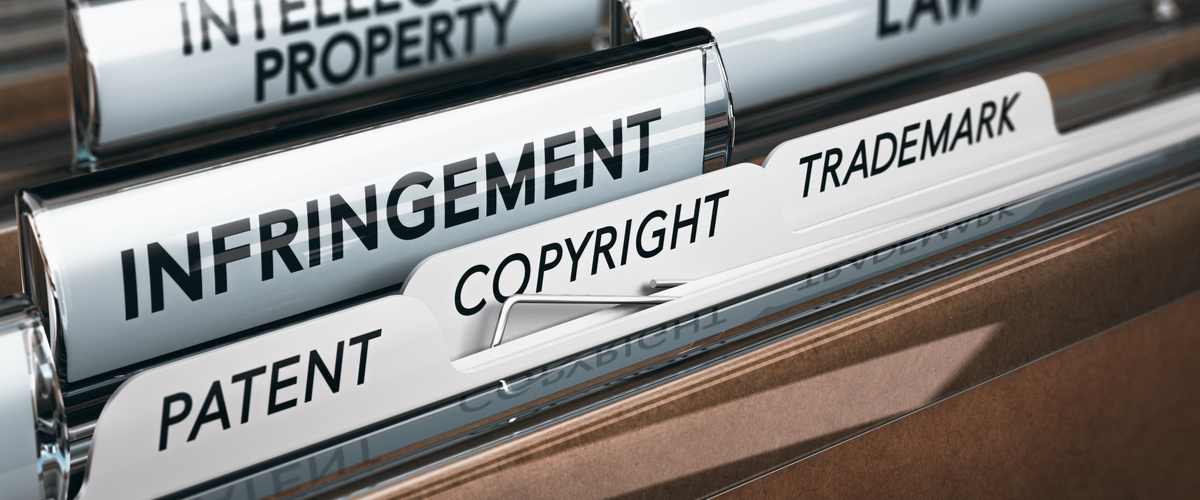 Files met patent en copyright erop