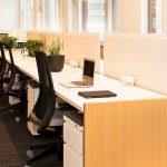 Flexplekken in kantoorgebouw