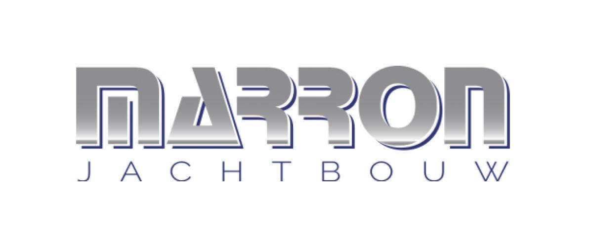HS Steel en logo van Marron Jachtbouw
