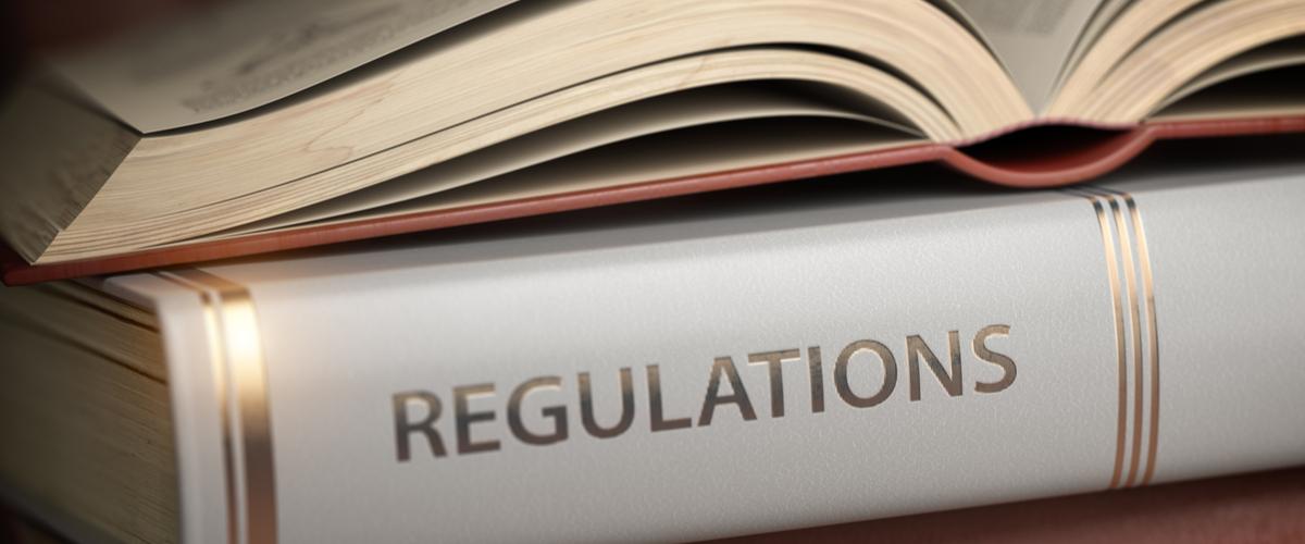 """""""Regulations"""" boek"""